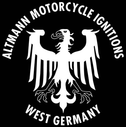 ALTMANN MOTORCYCLE IGNITIONS - WEST GERMANY